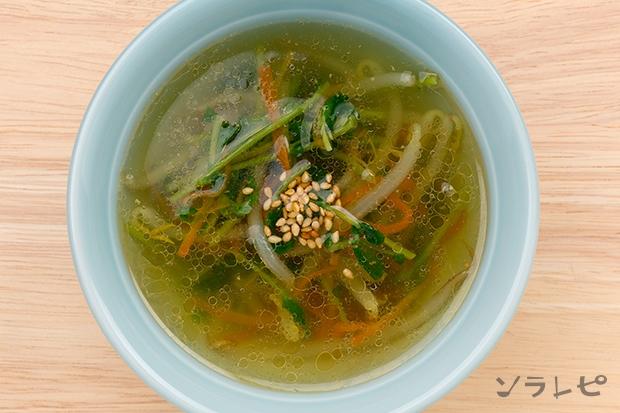 もやしと豆苗のスープ_main1