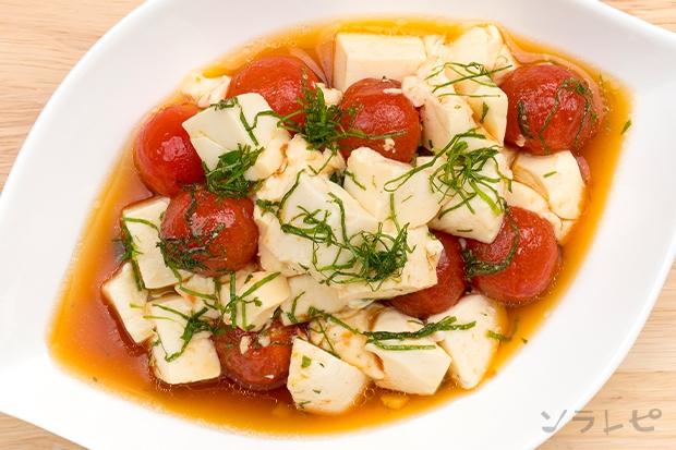 ミニトマトと豆腐のサラダ_main2