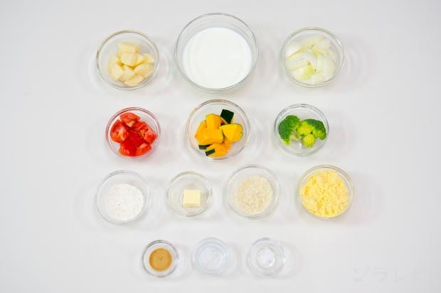 蒸し野菜のホワイトソースがけ_main3