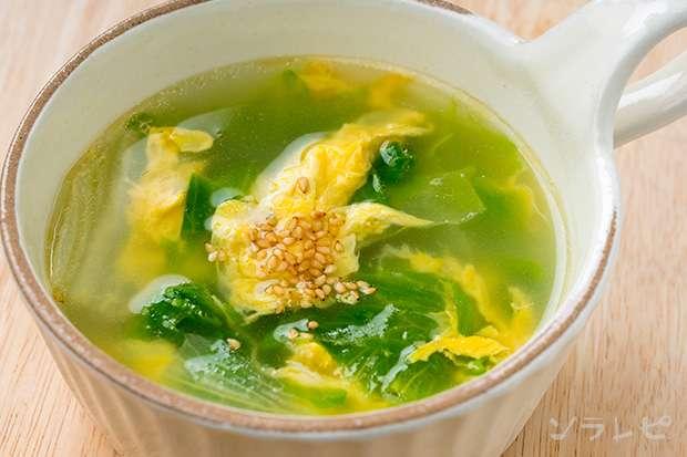 レタスと卵の中華スープ_main1