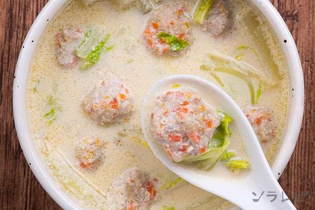 鶏ごぼう豆乳スープ_main2