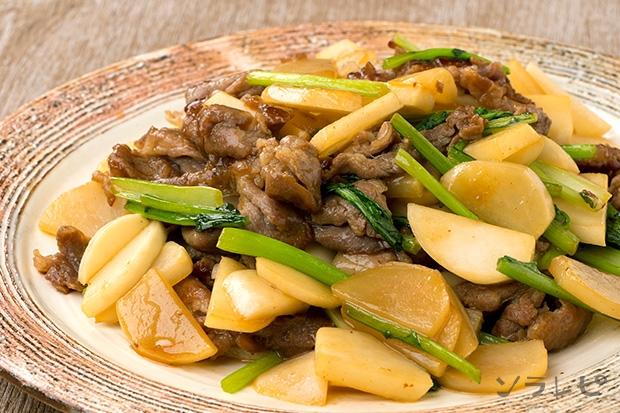 豚肉とかぶの甘辛炒め_main1
