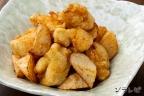 鶏ささみと長芋の柚子胡椒唐揚げ