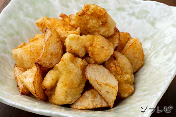 鶏ささみと長芋の柚子胡椒唐揚げ_main1