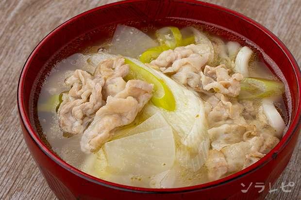 豚肉とネギの柚子胡椒うどん_main1