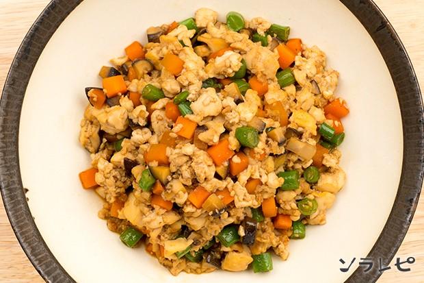 野菜たっぷり炒り豆腐_main2