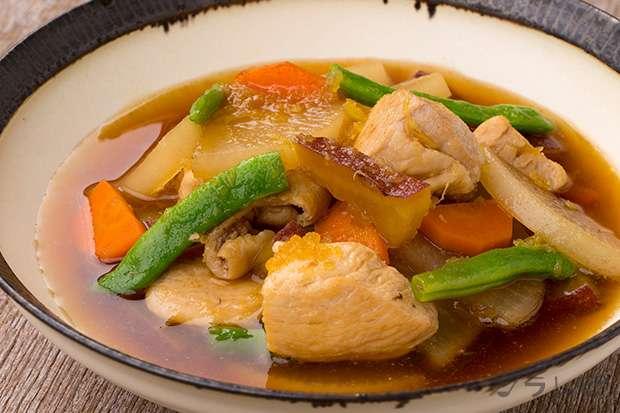 鶏肉とさつま芋のさっぱり煮_main1