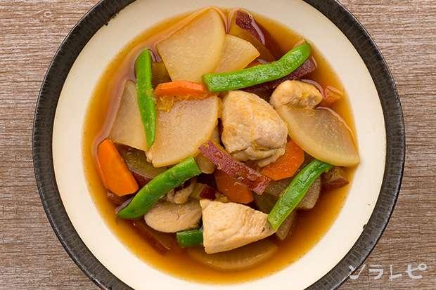 鶏肉とさつま芋のさっぱり煮_main2