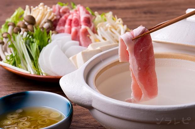 豚肉と野菜のカツオ出汁鍋_main1