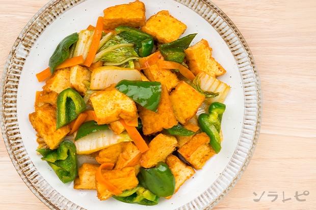 厚揚げと野菜のオイスターソース炒め_main2