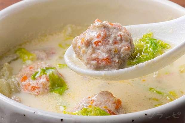 鶏ごぼう豆乳スープ_main1