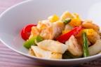 海鮮と野菜のXO醤炒め