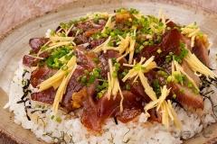カツオの手こね寿司