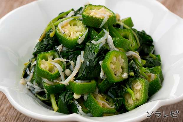 夏野菜のねばねば小鉢