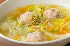 肉団子と白菜のスープ煮