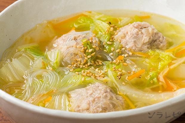 肉団子と白菜のスープ煮_main1