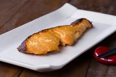 鮭のヨーグルト味噌焼