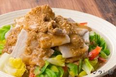 キャベツと豚肉の冷しゃぶサラダ