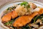 鮭と野菜の揚げ出し風