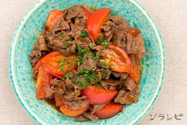 牛肉とトマトのガーリックソテー_main2