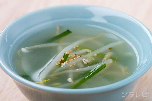モヤシとニラの中華スープ_main1