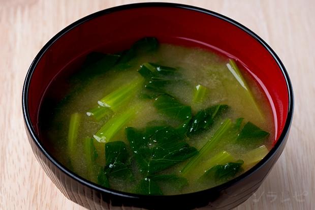 小松菜の味噌汁_main1