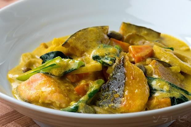 鮭と野菜のカレー風煮込み_main1