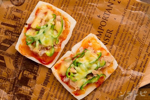 お餅のピザ_main2