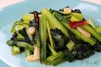 小松菜のペペロンチーノ風