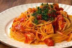 カジキのトマトパスタ
