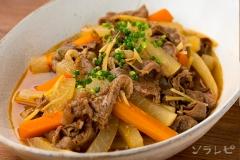牛肉と大根のコチュジャン煮