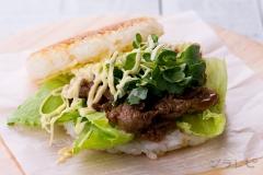 焼き肉ライスバーガー