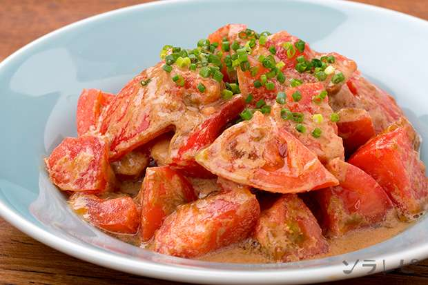 トマトの中華風ごま和え_main1