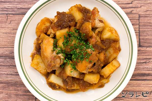 チキンとポテトのソテーオニオンソース_main2