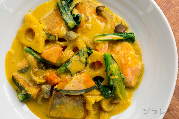 鮭と野菜のカレー風煮込み_main2