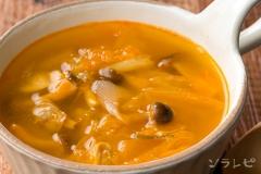 あさりのチゲスープ