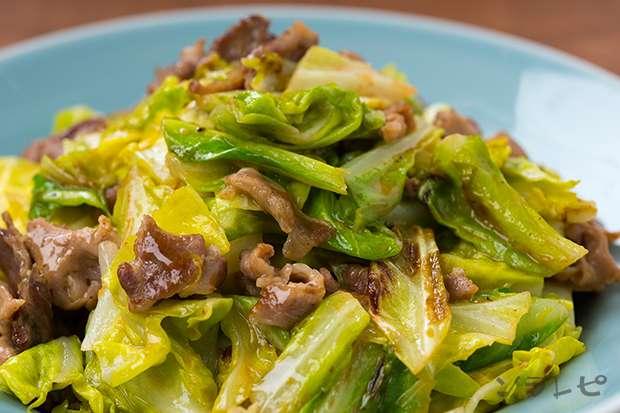 豚肉とキャベツのオイスターマヨネーズ炒め_main1
