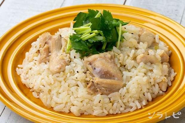 鶏肉と生姜の炊き込みピラフ_main1
