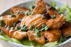 鶏肉の照りマヨ丼