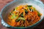 小松菜とニンジンのシラス和え