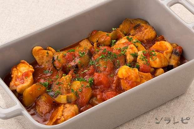 鶏肉と茄子のトマト煮_main1