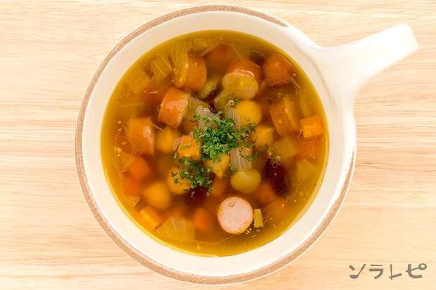豆とソーセージのスープ_main2