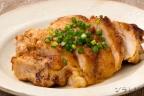 鶏肉味噌バター焼き