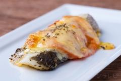 白身魚のトマトチーズ焼き
