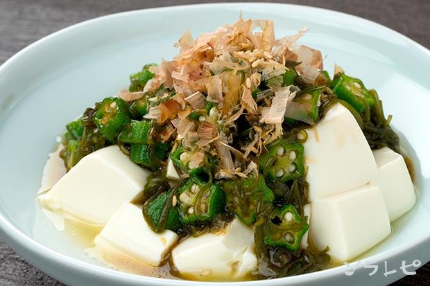 豆腐のネバネバサラダ_main1
