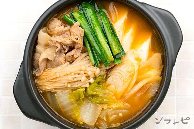 豆腐と野菜の味噌チゲ_main2