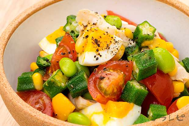 鶏ササミと彩り野菜のマリネ_main1