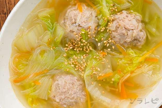 肉団子と白菜のスープ煮_main2