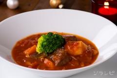 牛肉のトマトスープ煮