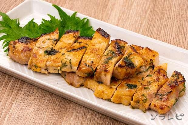 豚肉の大葉味噌焼き_main1